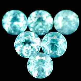 450 CT NATURAL 13PCS PARAIBA BLUE MADAGASCAR APATITE