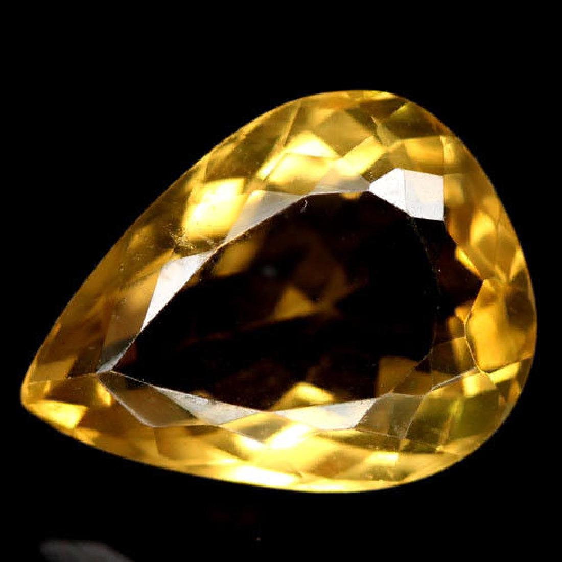 8.47 CT AAA! NATURAL! 12 X 16 mm. WHISKY YELLOW AFRICAN