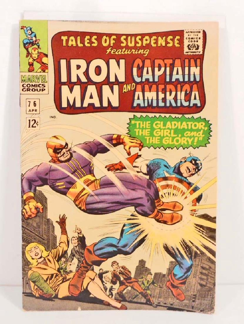 1966 TALES OF SUSPENSE ISSUE #76 COMIC BOOK - 12 CENT