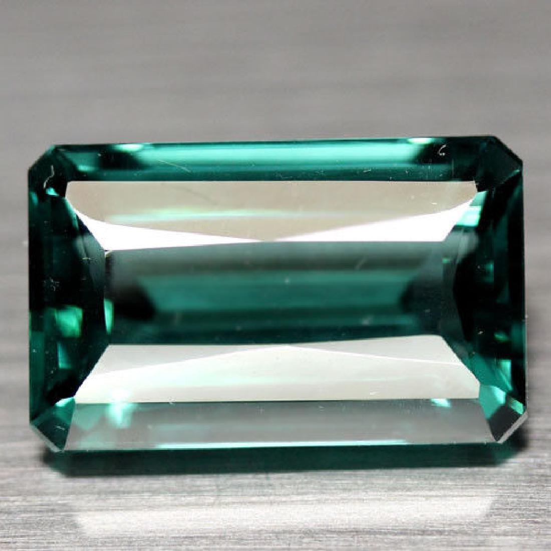 29.59 CT AAA! 14 X 23 mm. BLUISH GREEN AFRICAN QUARTZ