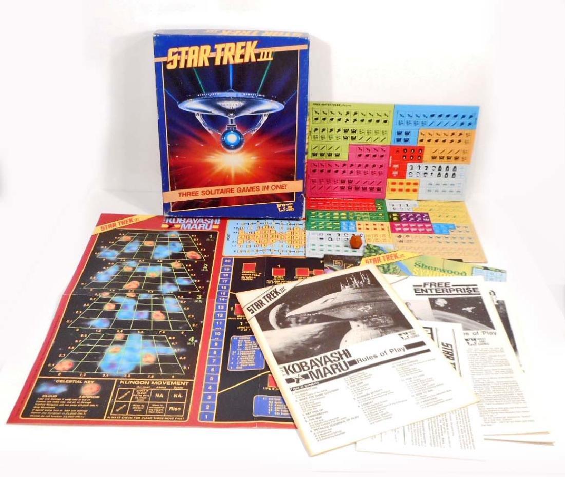 1980'S STAR TREK III GAME COMPLETE IN ORIGINAL BOX