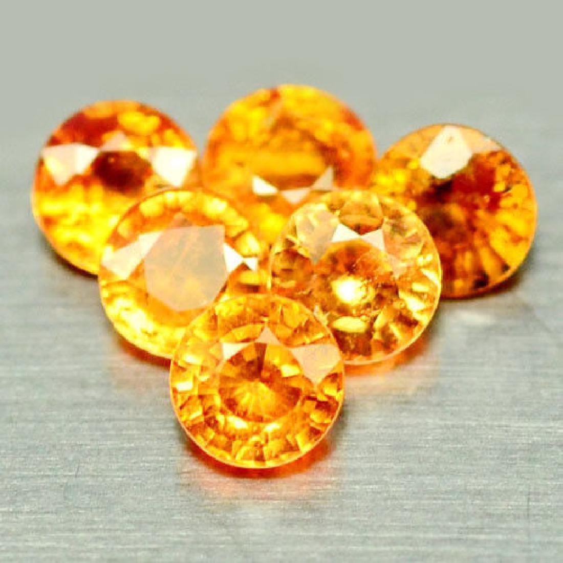 4.16 CT NATURAL! 17PCS FANTA ORANGE AFRICA SPESSARTITE
