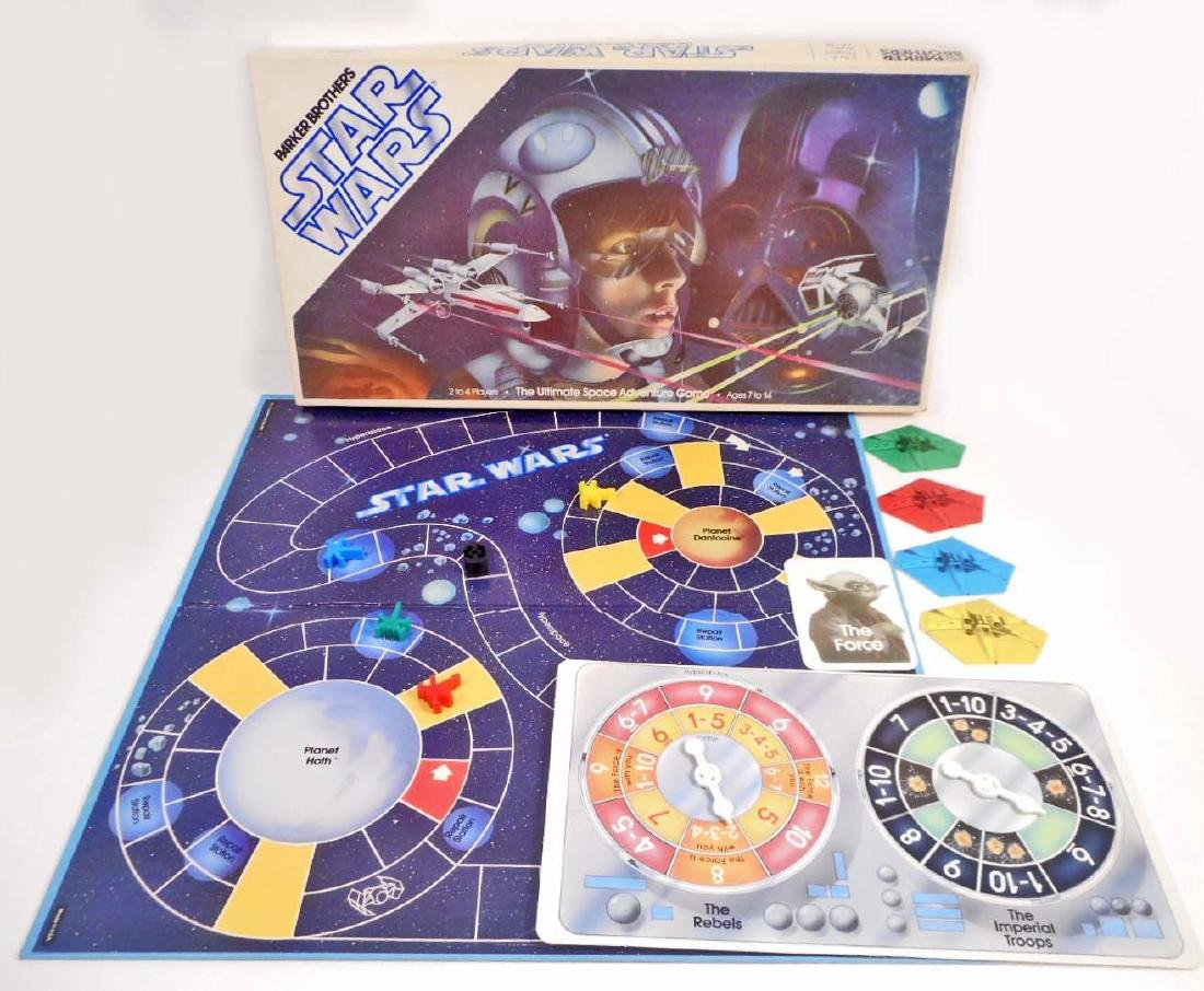 1982 STAR WARS THE ULTIMATE SPACE ADVENTURE GAME