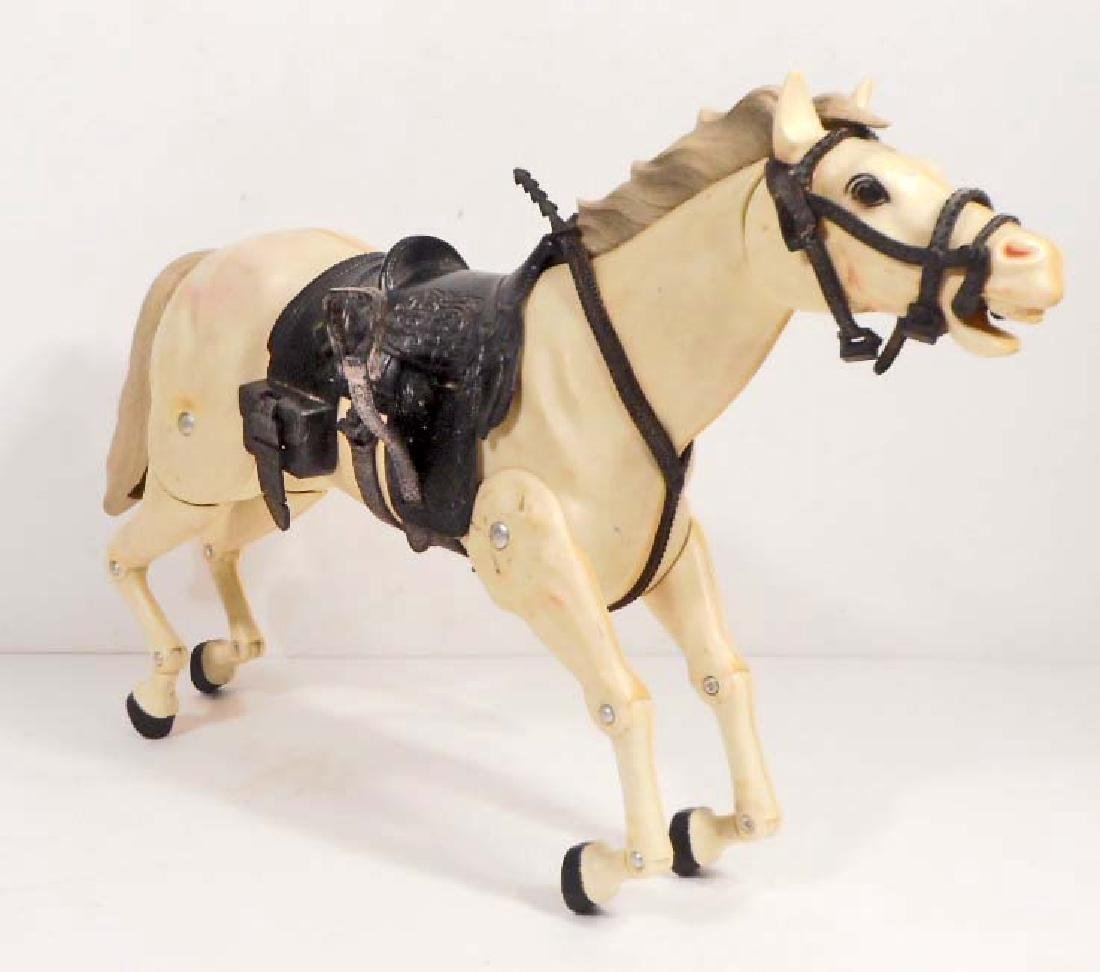 VINTAGE MARX THE LONE RANGER'S HORSE SILVER
