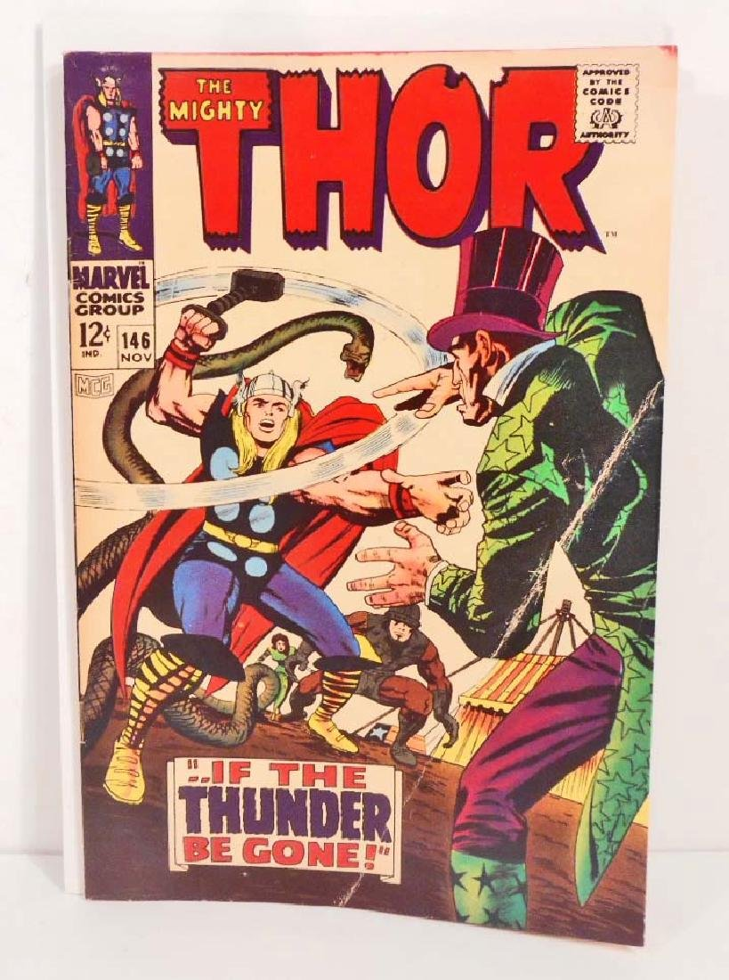 1967 THE MIGHTY THOR NO. 146 COMIC BOOK - 12 CENT COVER