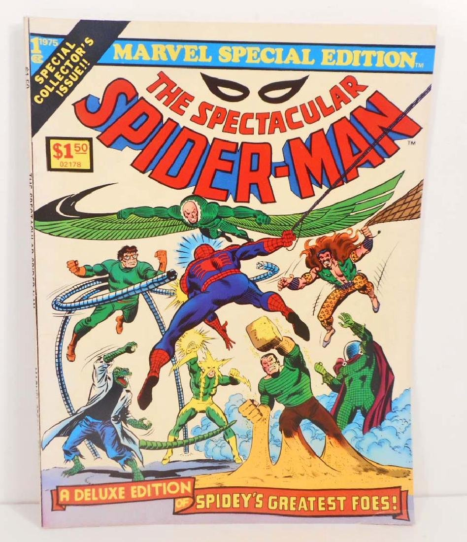 1975 SPECIAL GIANT SPECTACULAR SPIDER MAN ISSUE #1