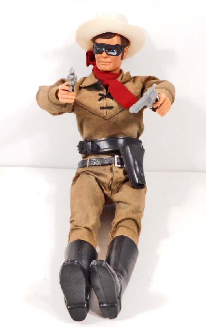 VINTAGE 1950S MARX THE LONE RANGER ACTION FIGURE
