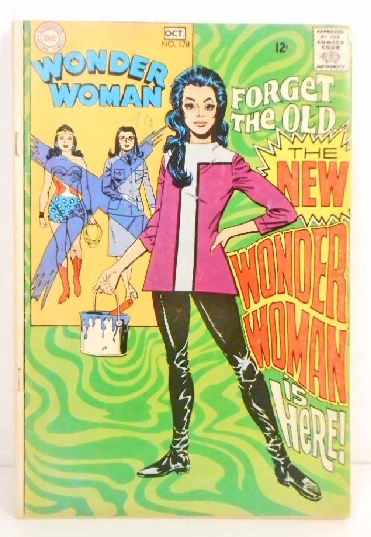 1968 WONDER WOMAN NO. 178 COMIC BOOK - 12 CENT COVER