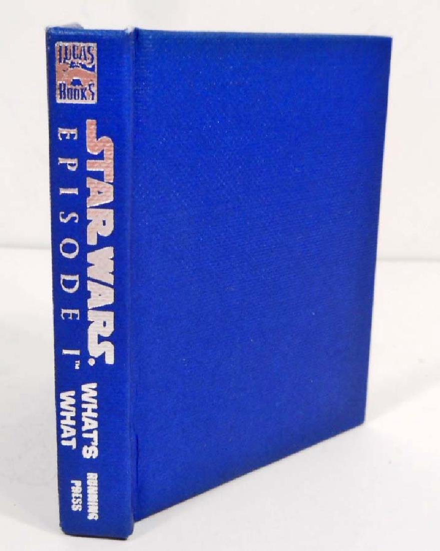 VINTAGE STAR WARS EPISODE 1 MINI WHAT'S WHAT HARDCOVER