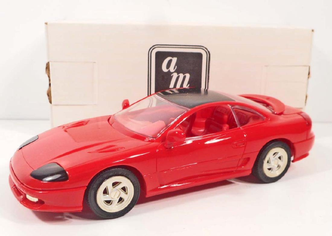1991 ERTL#6015 PROMO TOY CAR DODGE STEALTH TURBO RED