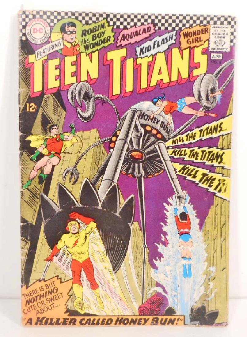1967 TEEN TITANS NO. 8 COMIC BOOK - 12 CENT COVER -
