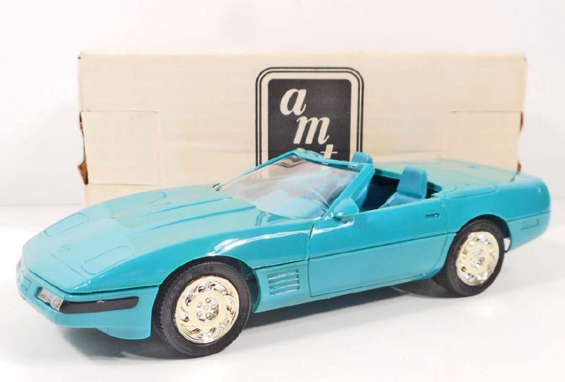 1991 ERTL# 6737ED PROMO TOY CAR CORVETTE CONVERTIBLE