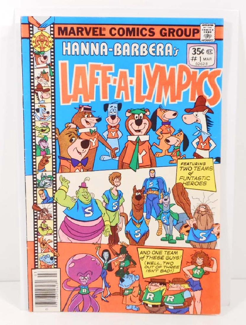 1977 HANNA BARBERA LAFF-A-LYMPICS NO. 1 COMIC BOOK