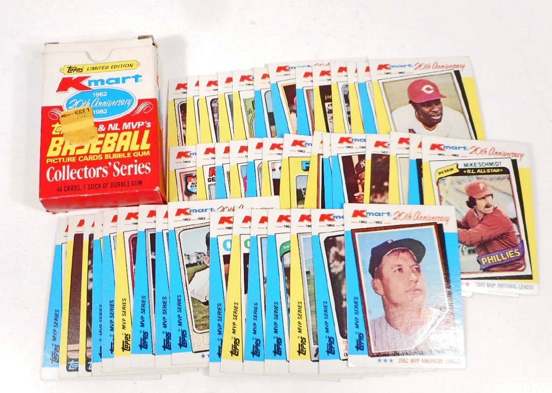 1962-82 TOPPS KMART 20TH ANNIVERSARY SET BASEBALL CARDS