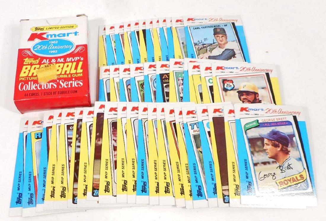1962-82 TOPPS KMART 20TH ANNIVERSARY SET BASEBALL CARDS