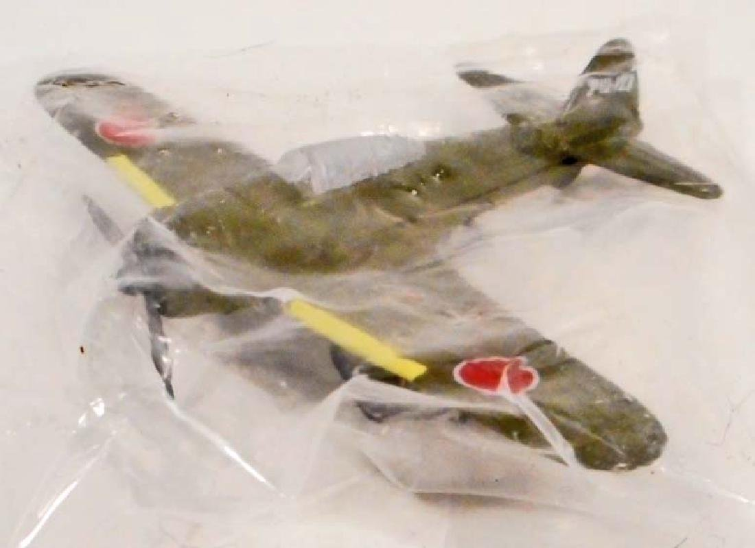 SMALL DIE CAST AIRPLANE WAR PLANE - MINT IN PACKAGE
