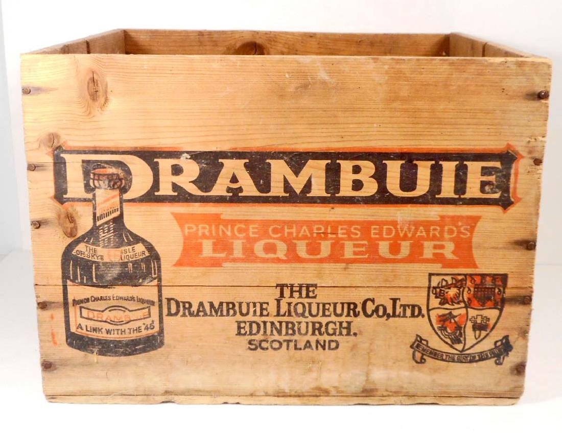 VINTAGE DRAMBUIE EDINBURGH SCOTLAND LIQUEUR ADVERTISING