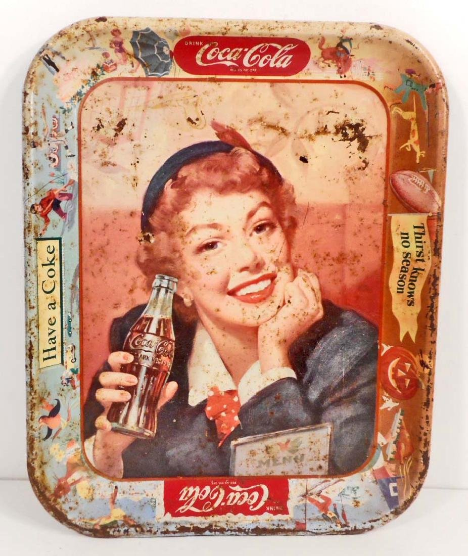 VINTAGE COCA-COLA ADVERTISING TRAY