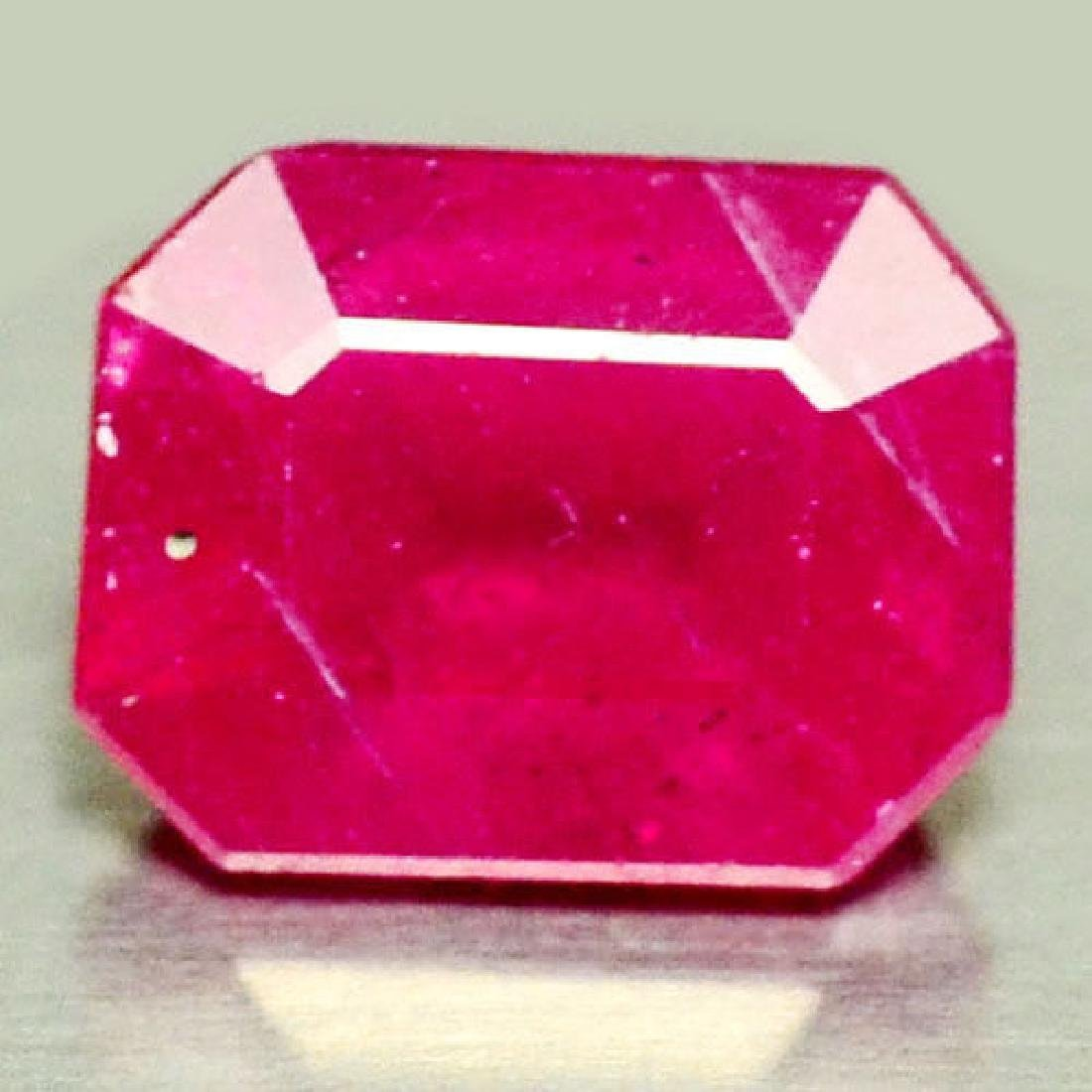 2.03 CT NATURAL! PINK MADAGASCAR RUBY OCTAGON
