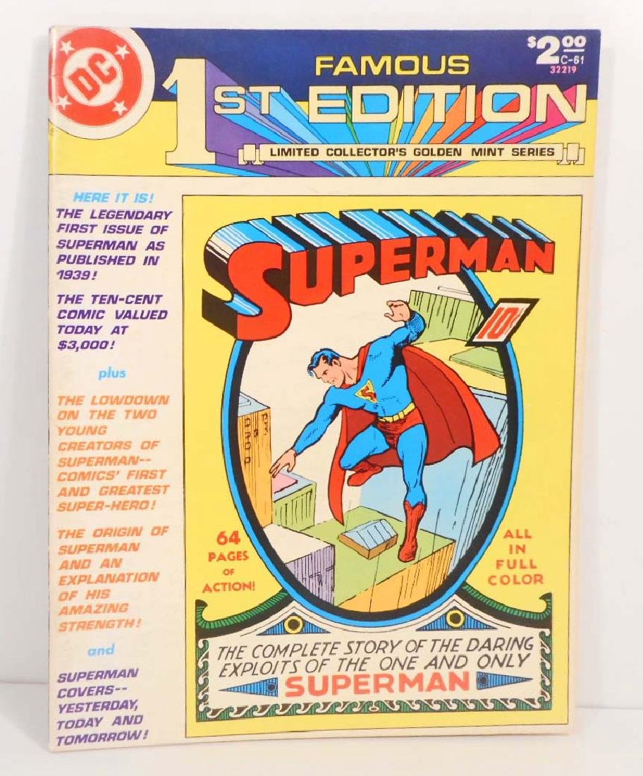 1979 SPECIAL GIANT COLLECTORS 1ST EDITIONS SUPERMAN #1