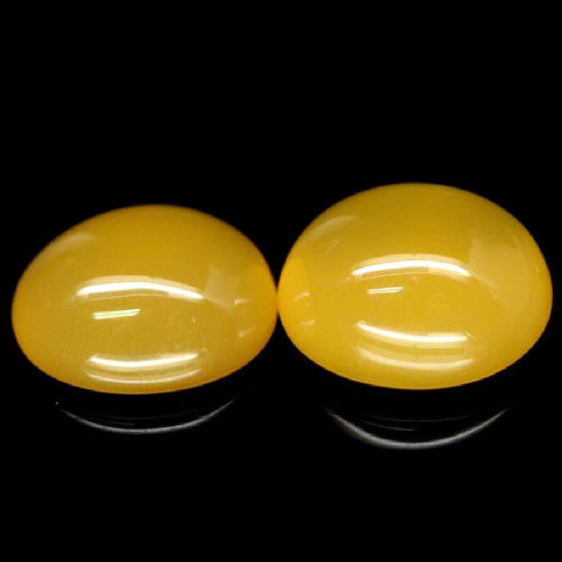 12.48 CT REAL! UNHEATED PAIR! YELLOW MADAGASCAR