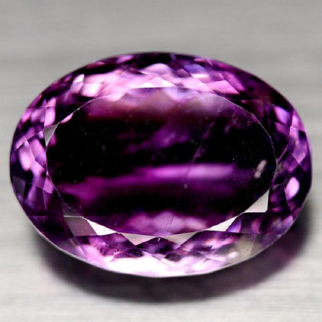 24.16 CT NATURAL! 15 X 21 mm. PURPLE CLR CHANGE TO PINK