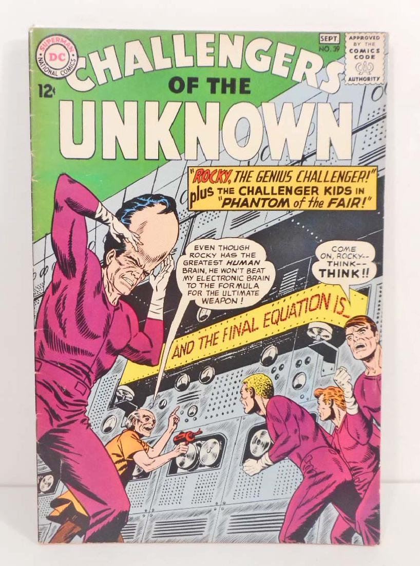 1964 CHALLENGERS OF THE UNKNOWN NO. 39 COMIC BOOK - 12