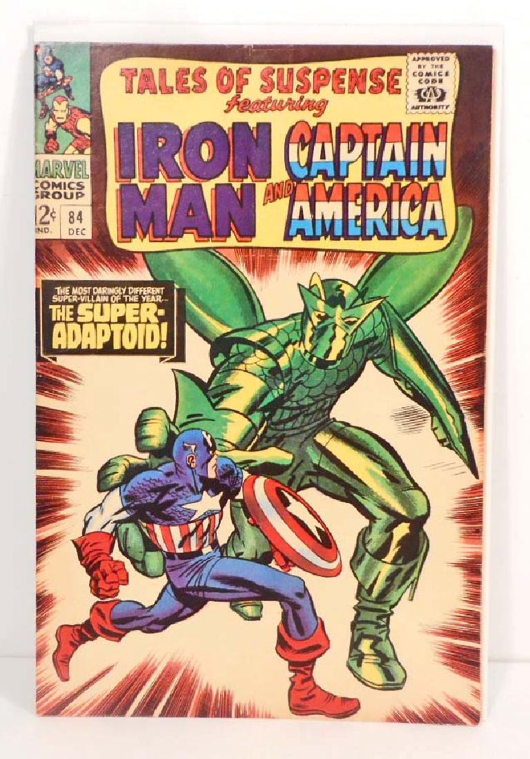 1966 TALES OF SUSPENSE ISSUE #84 COMIC BOOK - 12 CENT