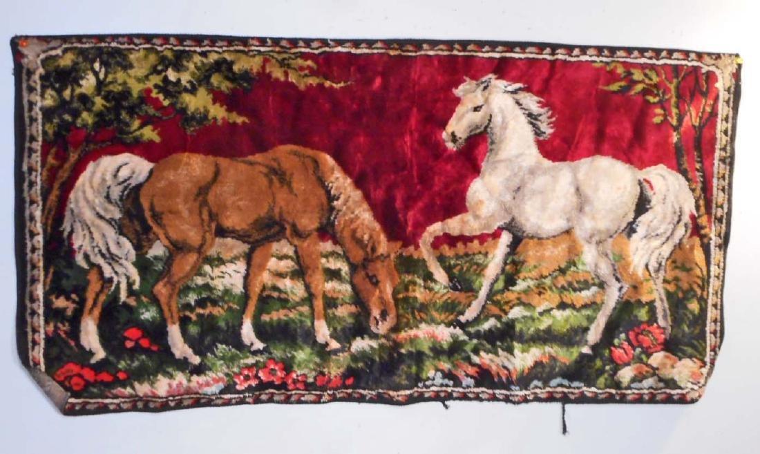 VINTAGE HORSE TAPESTRY