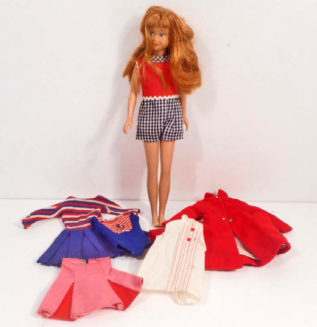 VINTAGE 1960'S SKIPPER BARBIE DOLL W/ CLOTHES
