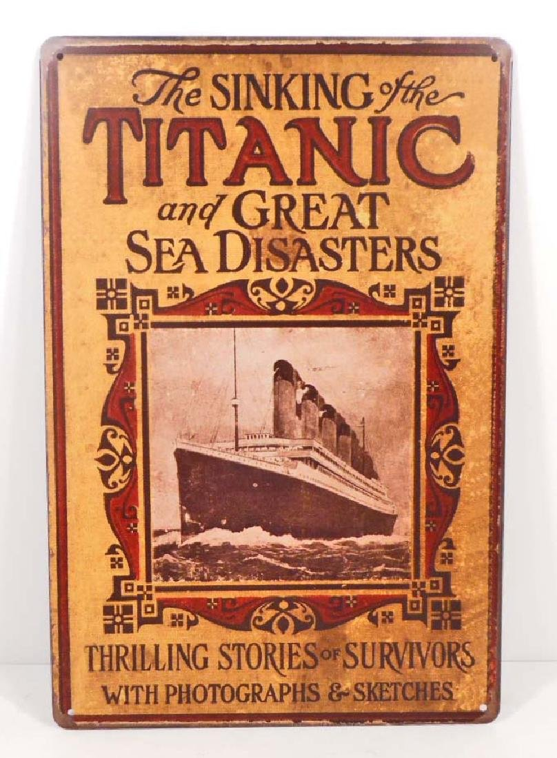 THE SINKING OF THE TITANIC AND OTHER DISASTERS METAL