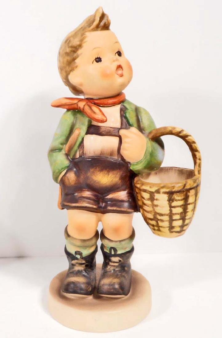 VINTAGE HUMMEL FIGURINE - VILLAGE BOY