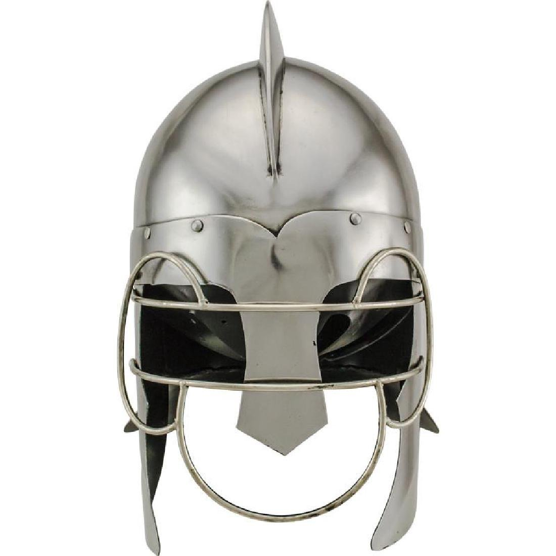 Roman Troopers Wire Guard Carbon Steel Helmet