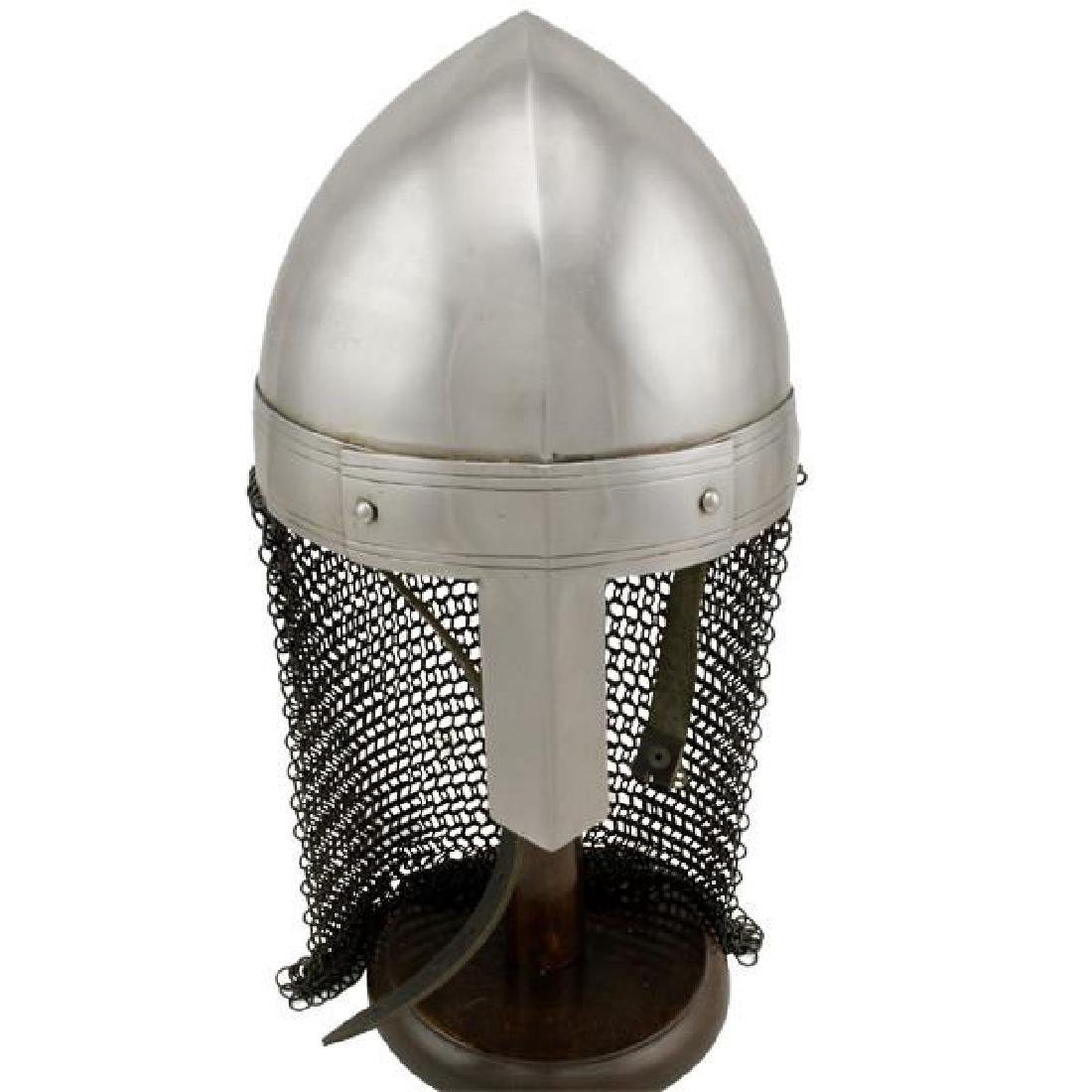 Viking Chainmail Tail Helmet