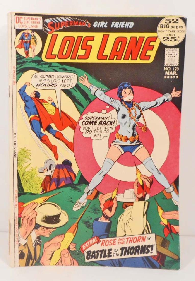 1972 LOIS LANE NO. 120 COMIC BOOK W/ 25 CENT COVER