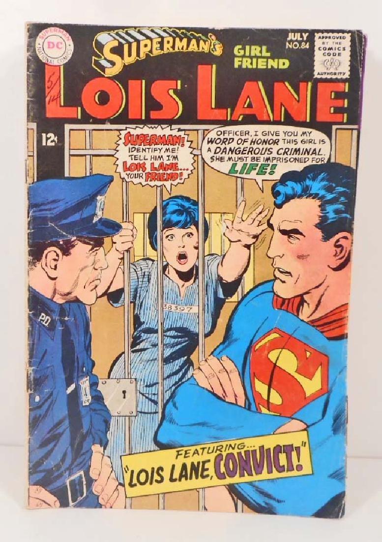 1968 LOIS LANE NO. 84 COMIC BOOK W/ 12 CENT COVER