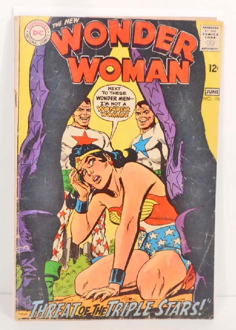 1968 WONDER WOMAN NO. 176 COMIC BOOK - 12 CENT COVER
