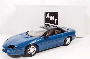 1994 ERTL 8959 CHEVY CAMARO Z28 TEAL BLUE METALLIC MIB