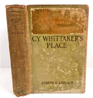 ANTIQUE 1908 CY WHITTAKERS PLACE HARDCOVER BOOK