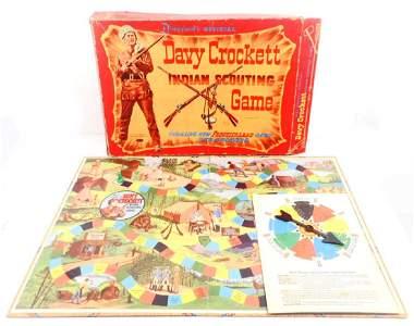 VINTAGE 1960'S WALT DISNEY DAVY CROCKETT BOARD GAME IN