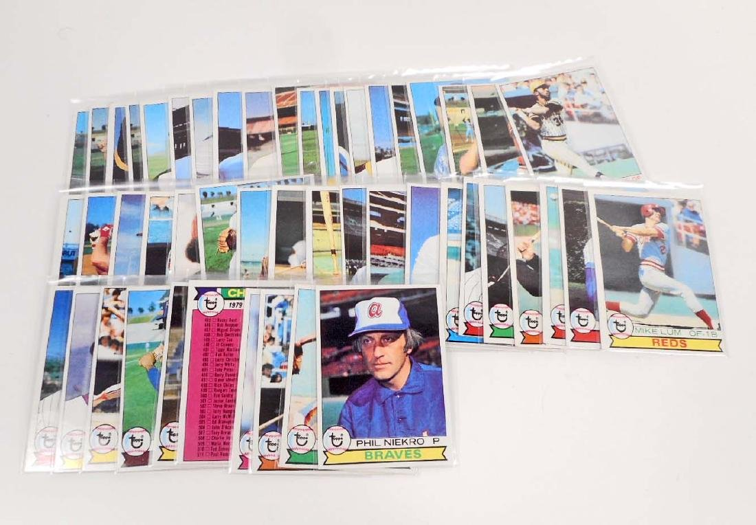 LOT OF 49 1979 TOPPS 5TH SERIES BASEBALL CARDS