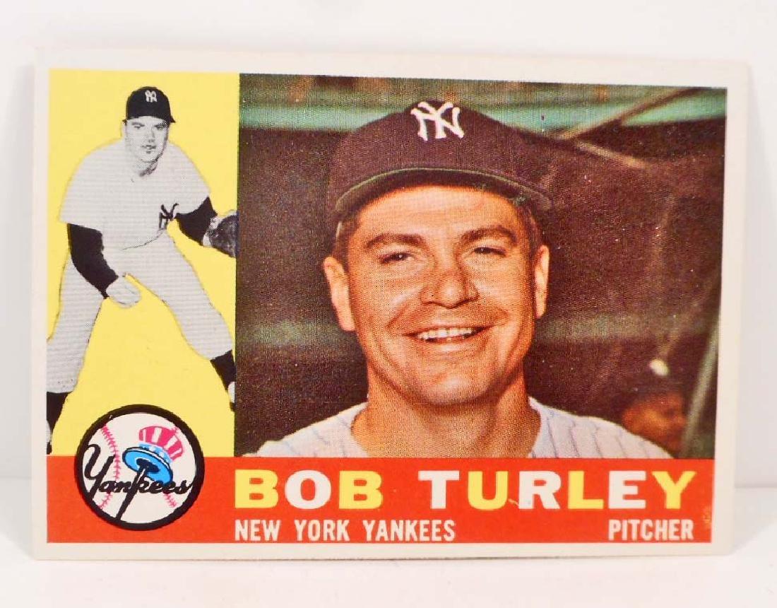 VINTAGE 1960 TOPPS BOB TURLEY #270 BASEBALL CARD