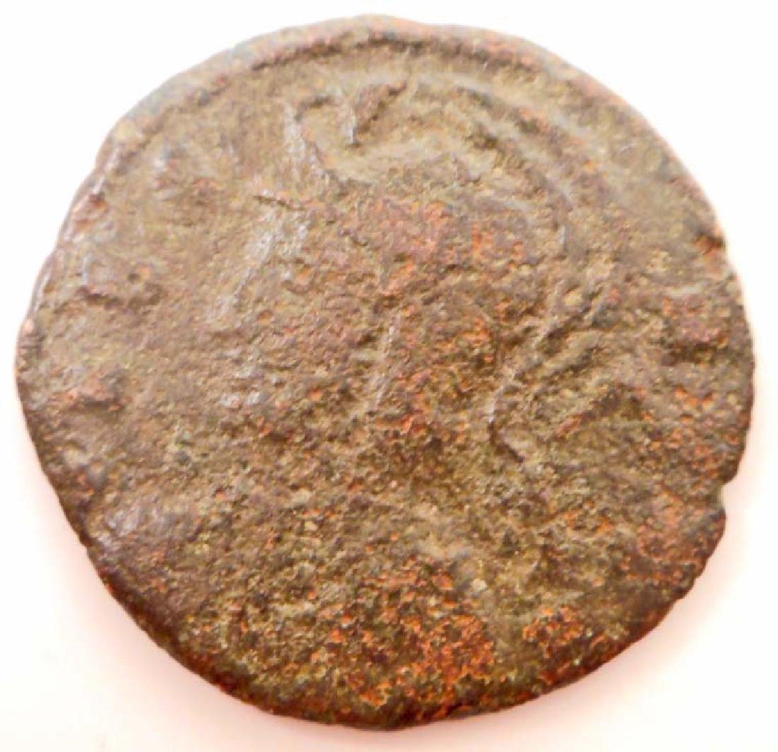 C. 100 AD - 500 AD ROMAN BRONZE COIN