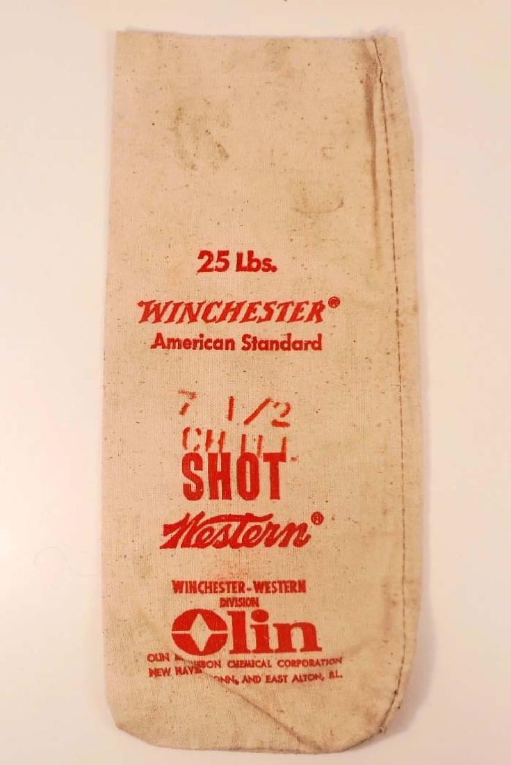 VINTAGE WINCHESTER 25 LBS. AMERICAN STANDARD LEAD SHOT