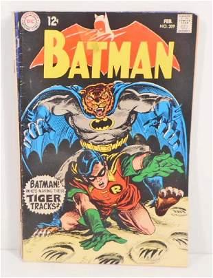 VINTAGE 1969 BATMAN #209 COMIC BOOK - 12 CENT COVER
