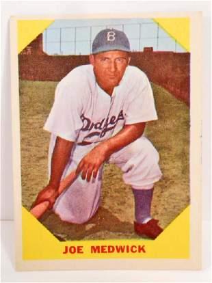 1960 FLEER JOE MEDWICK NO. 22 BASEBALL GREATS CARD