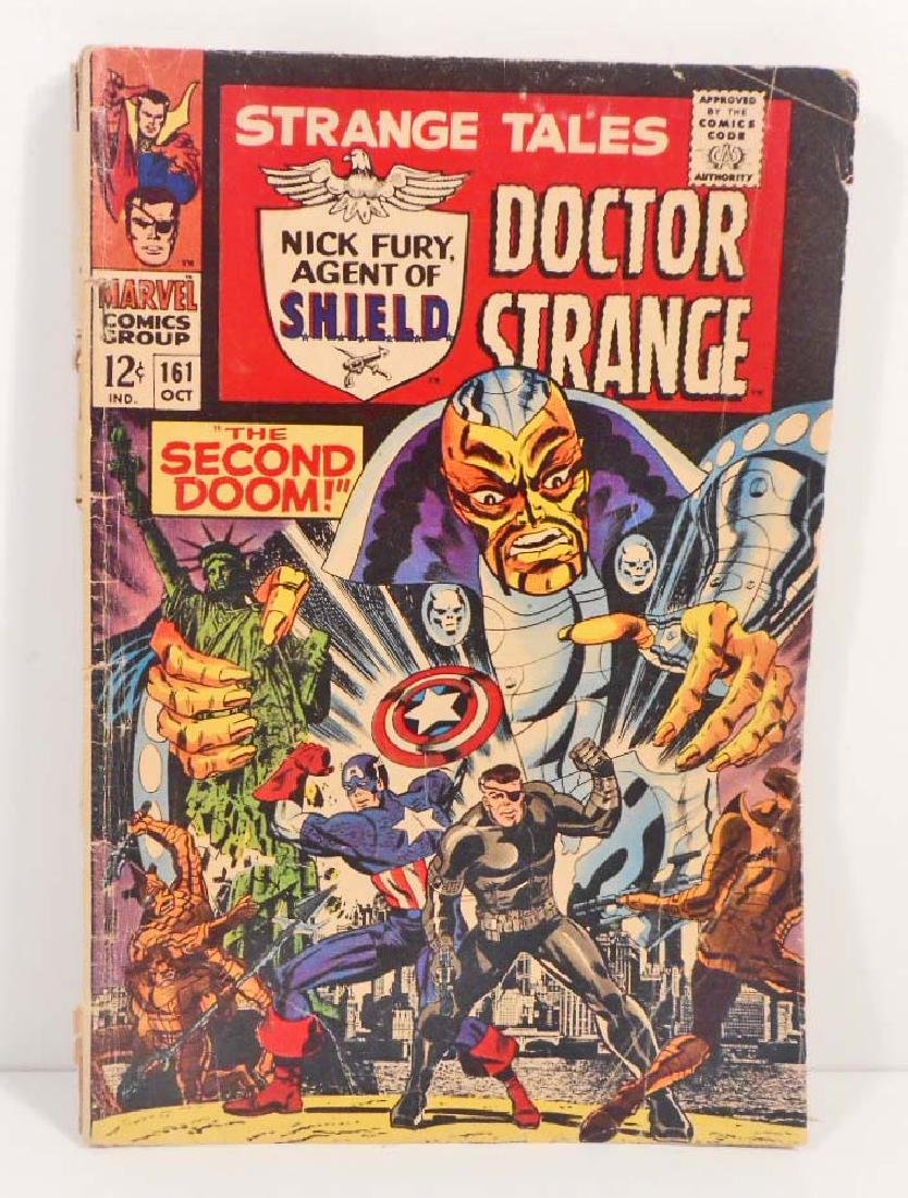 VINTAGE 1967 STRANGE TALES #161 COMIC BOOK - 12 CENT