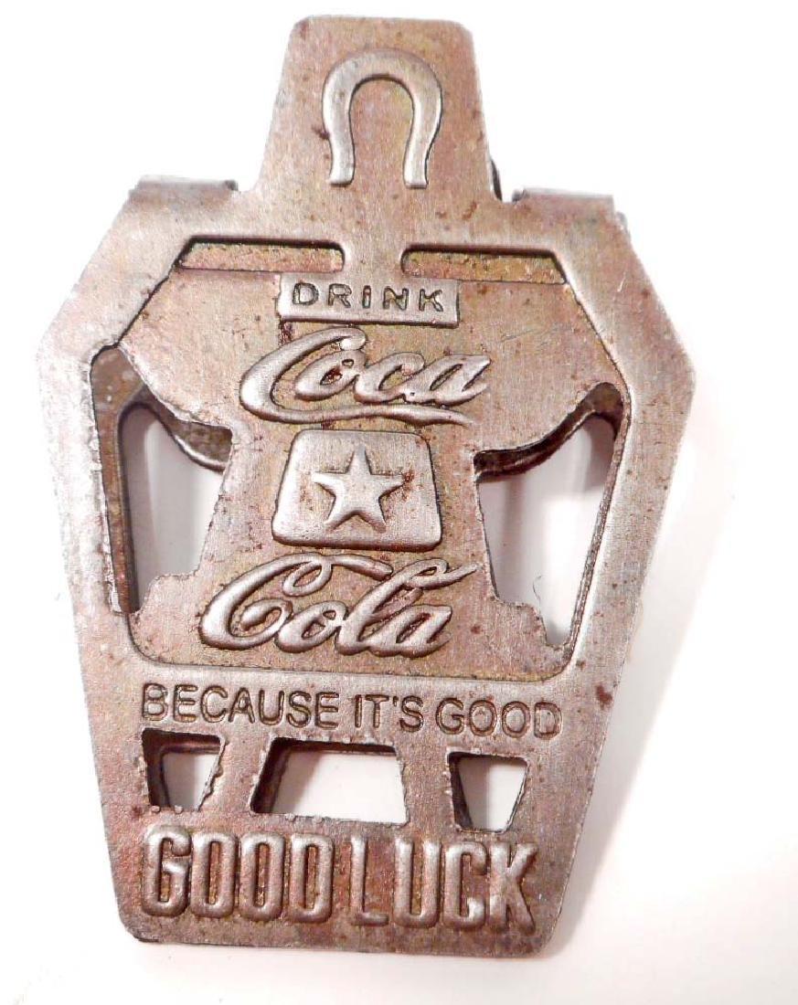 COCA COLA GOOD LUCK CLIP