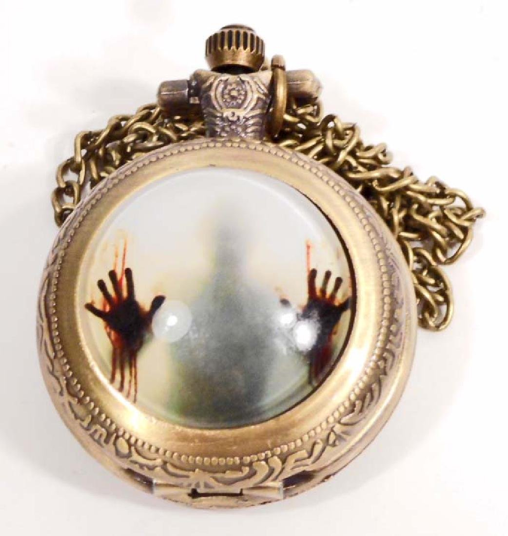 WALKING DEAD POCKET WATCH W/ CHAIN