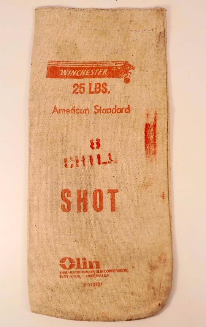 VINTAGE WINCHESTER 25 LBS. AMERICAN STANDARD LEAD SHOT